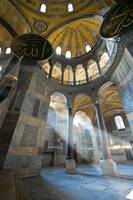 Beam of light at Hagia Sophia