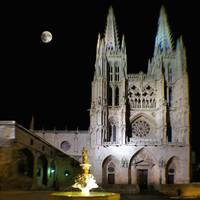 Cathedral in Historic Burgos Spain