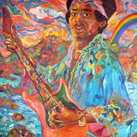 Jimi Hendrix Art Prints & Posters by David Noah Giles