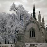 """Bellefontaine Cemetery in St. Louis"" by Graves"