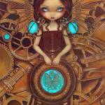 """Mechanical Angel I - Steampunk Series"" by strangeling"