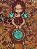 Mechanical Angel I - Steampunk Series