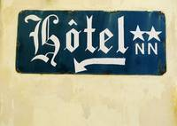 French Hotel Sign