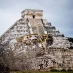 """Kukulcan Pyramid at Chichen Itza"" by canbalci"