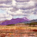 """Purple Hill"" by ChristopherMcKellar"