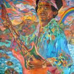 """Jimi Hendrix"" by DavidNoahGiles"