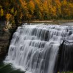 """Letchworth State Park Middle Falls"" by EricIrish"