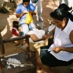 """""""Woman Weaving 1"""" by guarabamba"""