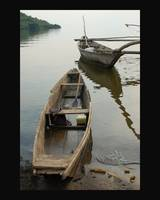 Boats At Lake Kivu