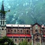 """Sanctuary of Covadonga, Asturia, Spain"" by GinaBarile"
