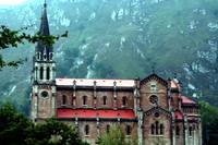Sanctuary of Covadonga, Asturia, Spain