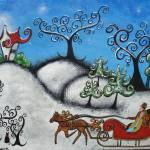 """A Magical Sleigh Ride"" by juliryan"