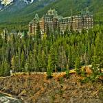 """""""Castle in the Rockies"""" by ChristopherBSmyth"""