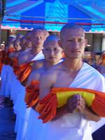 Ordination of monks in Thailand, 2007