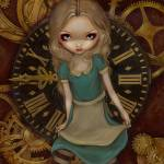"""Steampunk Alice in Wonderland: Alice in Clockwork"" by strangeling"