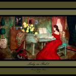 """""""Lady in Red 1"""" by SherryHolderHunt"""