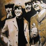 """gold beatles"" by iconicarts"