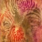 """Colorful Zebras"" by Iglika"