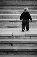 Child On Stairs
