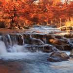 """Autumn on the River 2: Texas Hill Country"" by PaulHuchton"
