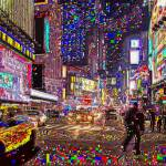 """TIMES SQUARE"" by FASO"