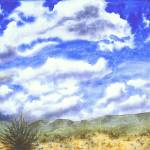"""Clouds Over Gorman"" by denisebrownart"
