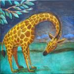 """""""Giraffe at Night"""" by SGGuy"""