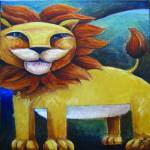 """""""Happy Lion"""" by SGGuy"""