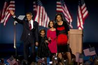 Barack Obama and Family 2