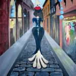 """Walking Lady"" by Mschwartz"