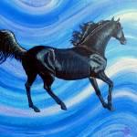 """blueblack fantasy 1994"" by cabartbycindybeck"