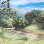 """Sunday Drive In Sonoma"" by denisebrownart"