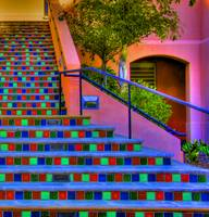 Stairway to color heaven