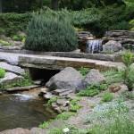 """""""Bridge over pond"""" by snapshotsbysandy"""