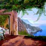 """Amalfi Bistro"" by kyaudeart"