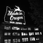 """made in oregon sign, portland, oregon (2)"" by portlandatnight"