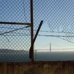 """View of Golden Gate Bridge from Alcatraz"" by DaniCaliGirl"