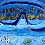 """Snorkeler Paradise"" by beloteoceanart"