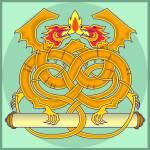 """Double Dragon"" by AleonArt"