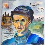 """Woody Guthrie"" by DavidNoahGiles"
