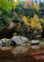 Fall Colors and Rock Formations