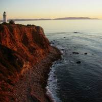 Pt Vicente Lighthouse & Catalina Island natural