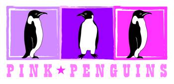 Pink Penguins