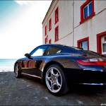 """Porsche 911 Carrera at East Neuk"" by justhype"