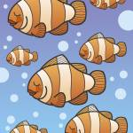 """Clown Fish School"" by karynlewis"