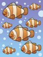 Clown Fish School