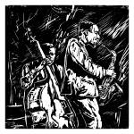 """Mingus and Dolphy"" by DavidNoahGiles"
