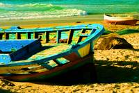 Boats in the Sand
