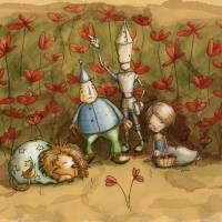 Poppieees Art Prints & Posters by Nancy Dorsner