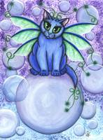 Bubble Fairy Cat